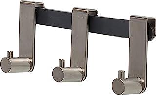 老虎挂钩条 Rhino 用于淋浴间 6-8 毫米不锈钢拉丝挂钩,均码