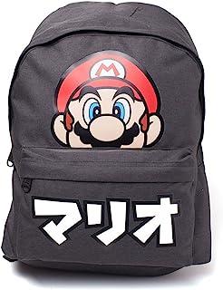 Nintendo 任天堂 DIFUZED 双肩背包 超级马里奥 日系儿童背包,28cm,黑色