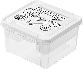 SmartStore - Deco 12 缝纫配件盒 - 白色