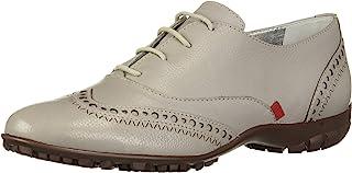 MARC JOSEPH 纽约女式皮革巴西制造系带高尔夫鞋