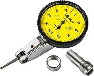 Mitutoyo 513-405-10E DIAL TI, BAS, STD 0.2 mm, 1 μm 精度, 0.002 mm, 黄色