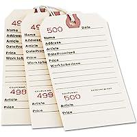 Avery 15030 修复标签,5 1/4 x 2 5/8,马尼拉(一盒500个)