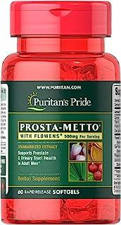 Puritan's Pride 普丽普莱 Flowens Prosta Metto-60粒软胶囊
