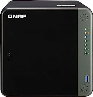 QNAP TS-453D-4G-US 4 Bay NAS,Intel Celeron Gemini Lake J4125 四核 2.0GHz 带 4GB DDR4 RAM