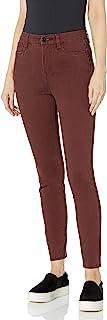UNIONBAY 女士曲线修身弹力纯色斜纹紧身裤
