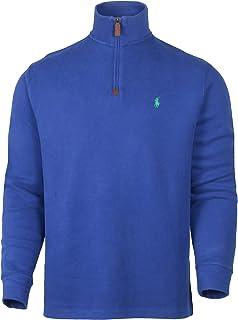 Polo Ralph Lauren 拉夫劳伦男式1/4拉链毛衣,* 棉 710723