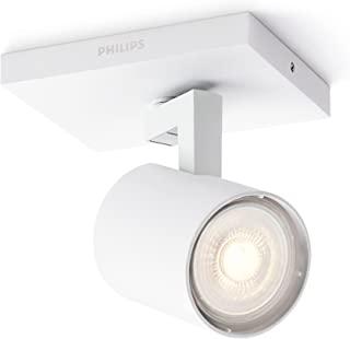 Philips 飞利浦 myLiving LED斑点射灯 3.5W,含灯泡,1件装,白色
