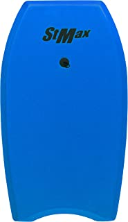 STMAX 健身板带手腕牵引绳冲浪板 适合儿童男孩和女孩 EPS Core Boogie 板 享受沙滩玩具 身体板和巡洋舰泳池面条冲浪和冲浪板