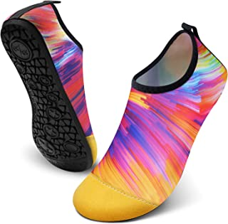 FEETCITY 男式水鞋女式速干赤脚沙滩冲浪船瑜伽运动鞋