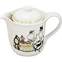 YAMAKA MOOMIN (姆明) 「 CELEC」 茶壶 带V型滤器(SV2) 米色 MM1603-SV2