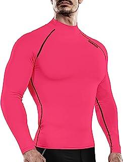 DRSKIN 男女防紫外线长袖上衣衬衫 skins T 恤防晒服紧身打底 UPF 50+