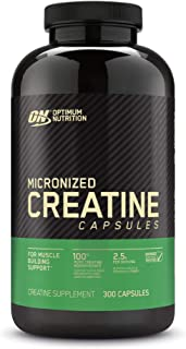 Optimum Nutrition 肌酸一水化微胶囊,酮友好型 ,2500mg,300粒(包装可能有所不同)