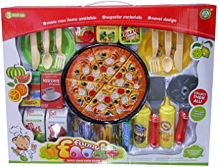 Kidz 比萨 可切割 带食物和配件 多色 438443