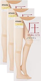 ATSUGI 厚木 连裤袜 ASTIGU [压] 紧致 压力 中筒袜 3双装 FS3533