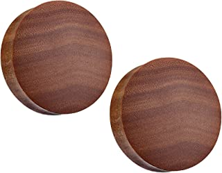 Convex Organic Saba 木鞍形贴合塞子 - 成对出售 - 多种尺寸可选