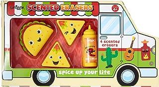Smiggle Taco 卡车香味橡皮擦盒 X4