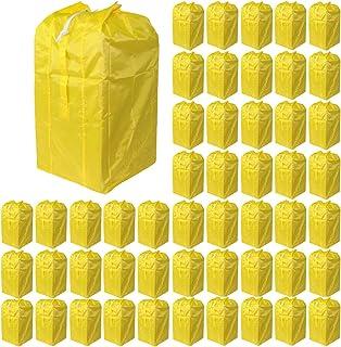 Olivitan(东方) 受到推车、购物车、各种洗衣车用 集配 收集 收纳 干袋 50个装 黄色 02090450