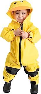 儿童幼儿雨衣 - Muddy Buddy 防水连体服一件式防风雨婴儿夹克