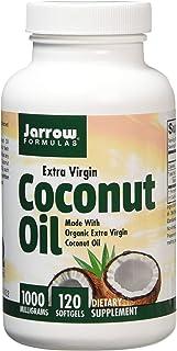 Jarrow Formulas 椰子油软胶囊,100%高级初榨橄榄油,1000毫克,120粒