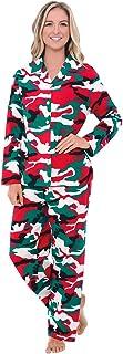 ALEXANDER DEL rossa 女式法兰绒睡衣,长棉质睡衣套装