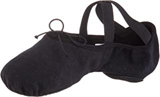 Bloch Dance 女士 Zenith 弹力帆布芭蕾拖鞋/鞋