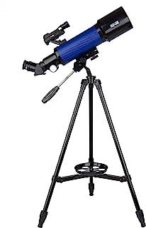 Explore One CF400SP 天文望远镜,带 20 倍至 67 倍放大 - 70 毫米光圈 - 400 毫米焦距 - 智能手机适配器 - 易于使用的初学者望远镜,适合儿童和成人