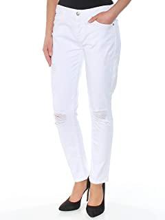 7 For All Mankind 女士 Josefina 男友牛仔裤,纯白色