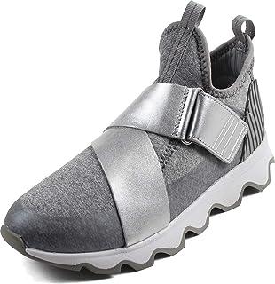 SOREL - 女士運動鞋,針織運動鞋,扇形鞋底和彈性帶