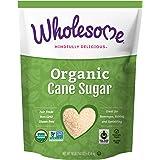 Wholesome Organic Cane Sugar, Fair Trade, Non GMO, 10 LB, si…