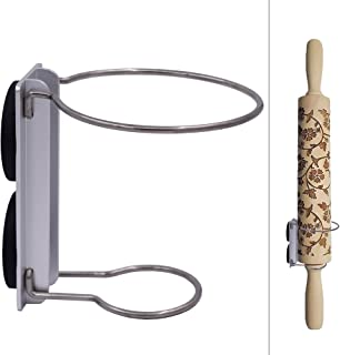 YYST冰箱磁性擀面杖支架,仅垂直显示 - 无擀面杖(1)
