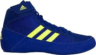 adidas HVC 2宝太阳能黄色摔跤鞋 bd7637)