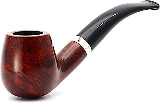 Mr. Brog Full Bent Tobacco Pipe - 型号:82 Consul - 地中海梁木 - 手工制作 1.00