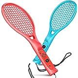 TNP 网球拍 Nintendo Switch Joy-Con 控制器 带腕带 Joy-Con 球拍配件 两件装 适用于…