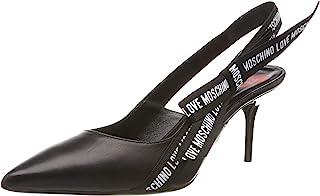 Love Moschino 女士 Scarpad.spillo Da 70 毫米 纳帕高跟鞋 黑色