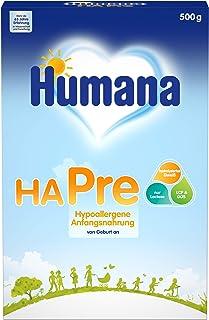 Humana HA PRE奶粉 针对宝宝的低敏婴儿初始营养 可作为婴儿营养摄入的奶粉 适合新生儿使用 500g