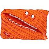 ZIPIT Monster 大号铅笔盒,橙色