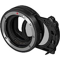 Canon 佳能 带插入式滤镜的卡口适配器EF-EOS R(C-PL:圆偏振滤镜A)