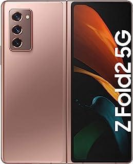 Samsung Galaxy Z Fold2 5G, faltbares Handy ohne Vertrag, flexibles, großes 7,5 Zoll Display, 3 Kameras, ausdauernder Akku,...