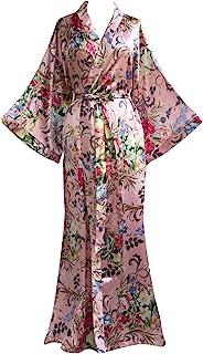 JANA JIRA 女士和服长袍带路易斯印花睡衣加大尺码 2XL 3XL
