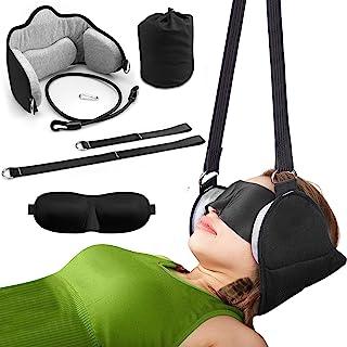 头部吊床,缓解颈部*和物理*,*,*和颈部支撑,颈部和肩部*的颈椎牵引设备,带眼罩,