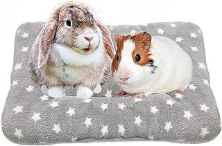 Tierecare 豚鼠床柔软温暖仓鼠房子兔子配饰雪貂刺猬松鼠用品小型动物*垫可机洗