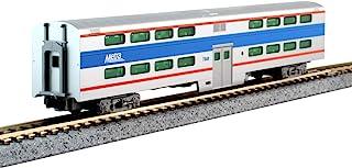 Kato USA Model Train Products N Pullman 双面 4 窗口客车 - Chicago Metra #7848