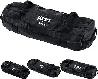 XPRT 健身锻炼沙袋适用于重型锻炼交叉训练7个多位置手柄