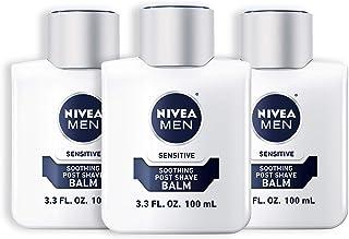NIVEA 妮维雅 男士抗敏感剃须后润肤膏 3.3液体盎司(约97.6毫升)(1套3件)