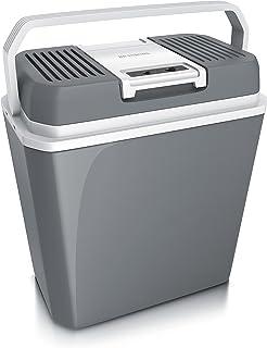 Brandson - 冷却箱 电动 24 升 - 230 V 电源电压和 12 V 汽车板电压 - 冷却和温暖 - *高 50°C - 在环境温度下降冷18°C - ECO 模式 - 酷灰色