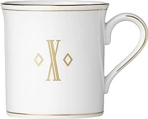Lenox 联邦金块交织字母餐具 字母 X 874377