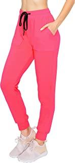 ALWAYS 女士慢跑裤-超紧身轻质优质柔软弹力抽绳口袋长裤