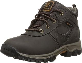 Timberland 男童 Mt. Maddsen FTK_Mt. Maddsen Mid WP 冷内衬经典靴子半长