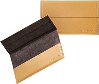 """Elecom 宜丽客 名片盒 名片盒 """"MINIO """"系列 子携带用 薄款 轻量 (约可收纳15张) 狮子黄色×石板灰 SLA-MNOCCYL"""