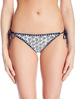 Dolce Vita 女式云朵九面两面包边细节系带比基尼泳裤